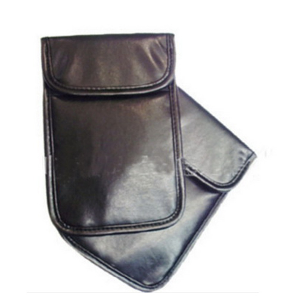 10pcs Anti-Scan Card Sleeve PU Pouch For 5.8
