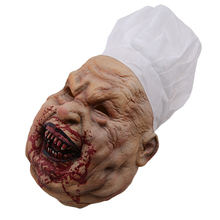 Creepy Scary Costume Mask For Adults Party Horror Prop Halloween Supplies Hallow