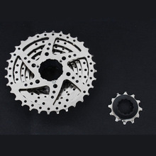 MTB Mountain Bike Bicycle 8S Cassette Freewheel 8 Speeds Flywheel 12-32T Teeth Crankset Parts 327g