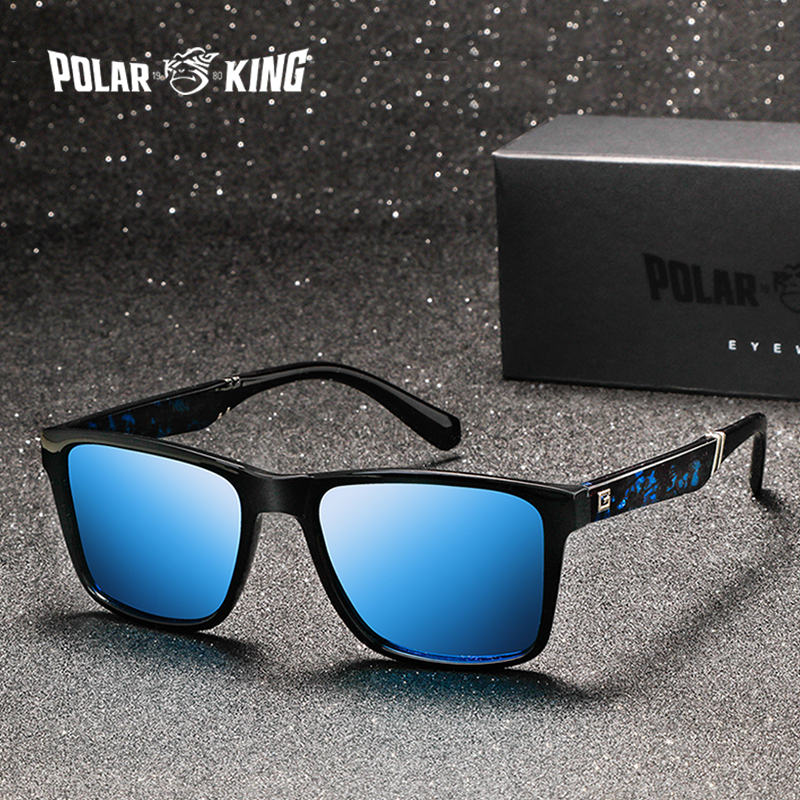 POLARKING Brand Men Polarized Sunglasses Men's Plastic Driving Sun Glasses FishingTravel Eyewear Oculos De Sol
