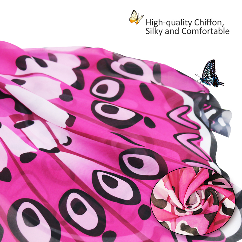 3-9 Y.o Special Pink Cosplay Butterfly Wings For Girl Costume Party Summer Sunscreen Masque Children Toy Animal Costume Kids Costumes & Accessories