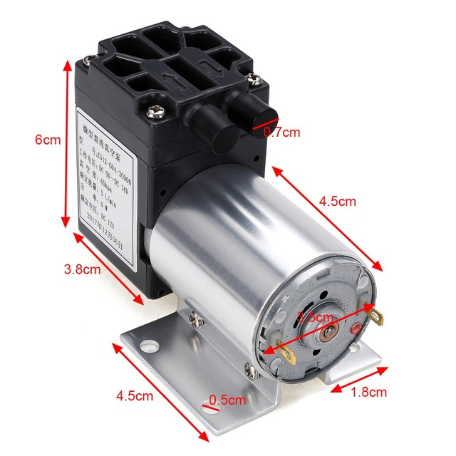 12v 6w mini vacuum pump high pressure electric diaphragm pump with 12v 6w mini vacuum pump high pressure electric diaphragm pump with holder 5lmin ccuart Images