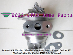Cartucho Turbo CHRA de aceite fresco 49135-03310 49135 03310 4913503310 MD202579 para Mitsubishi Pajero Challanger L400 Shogun 4M40 2.8L