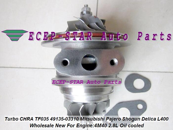 Turbo CHRA Cartridge Oil Cool 49135-03310 49135 03310 4913503310 MD202579 For Mitsubishi Pajero Challanger L400 Shogun 4M40 2.8LTurbo CHRA Cartridge Oil Cool 49135-03310 49135 03310 4913503310 MD202579 For Mitsubishi Pajero Challanger L400 Shogun 4M40 2.8L