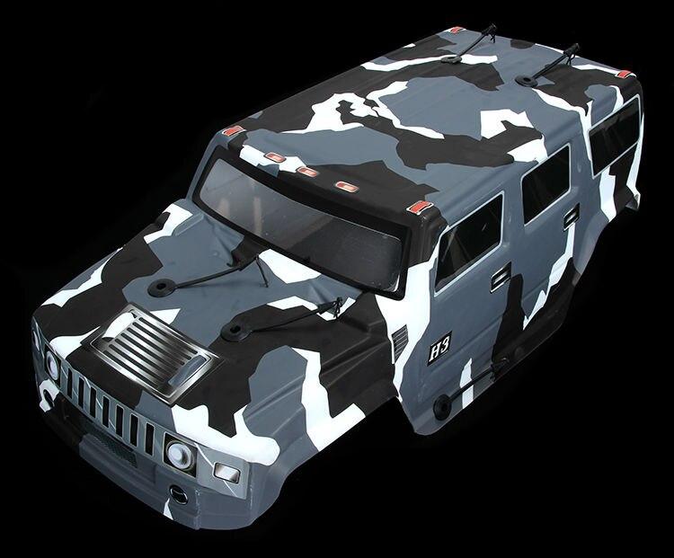 1/5 масштаб 4x4 BM тело только для 1/5 ROVAN большой Монстр RC грузовик - Цвет: Темно-серый