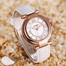 Cuero SINOBI Casual Mujer Relojes Top Marca de Lujo de Señora Reloj de Las Mujeres Vestido de Pulsera de Cuarzo Reloj de Pulsera Reloj de Pulsera Reloj Mujer