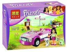 Bela 10154 Friends Elmar's Sports Car Camping Minifigures Building Block Minifigure Toys Compatible with Legoe