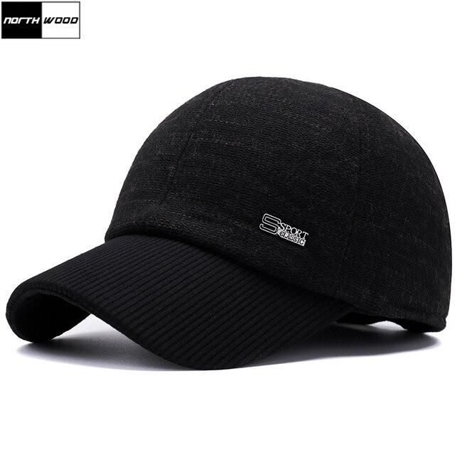 856b639066233  NORTHWOOD  marca invierno gorra de béisbol de los hombres Gorras Para  Hombre Snapback sombreros