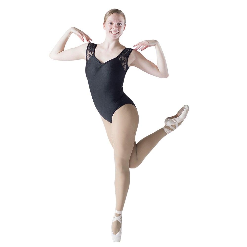 White Nude Top Tank Ballet Dance Leotard Girls Dancewear Costume Dress Putih Renda A30554 Preto Brilhante Lycra Tanque Rendas Meninas Dana Collant Rosa Azul Das Senhoras Bodysuit Desempenho 10