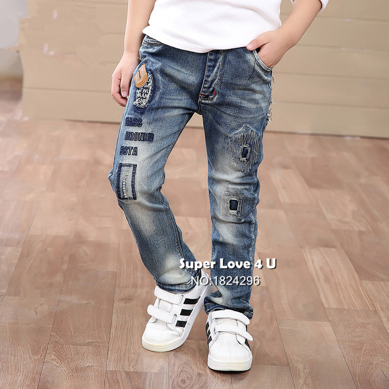 Popular Boys Ripped Jeans-Buy Cheap Boys Ripped Jeans lots from