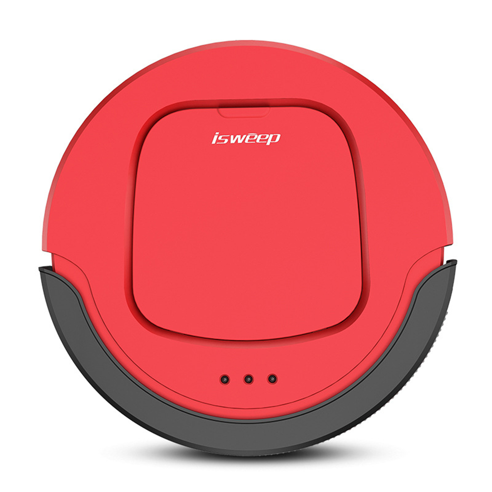 Isweep S550 Robotic Vacuum Cleaner Mopping Machine Auto Smart Home Appliances With Infrared Remote Control Self Charging 3 Modes