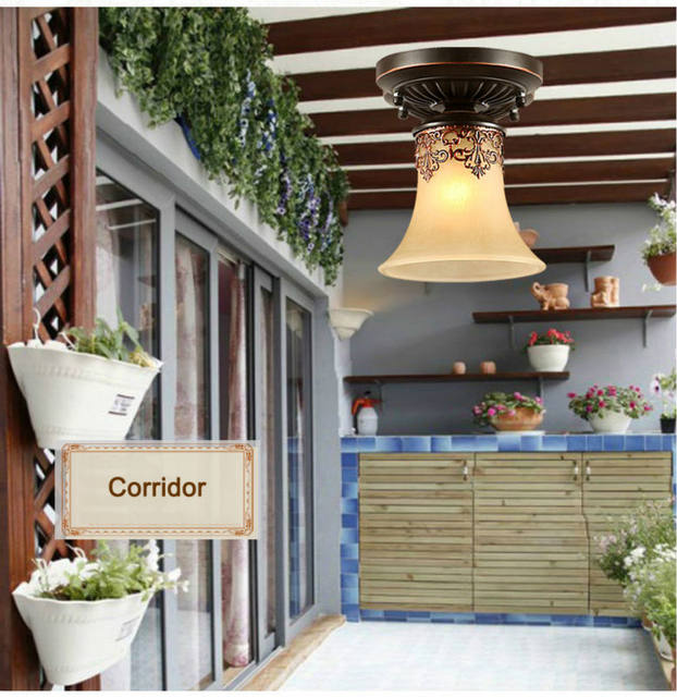 Online Shop Plafoniere classiche. reale Retro style lampade ...