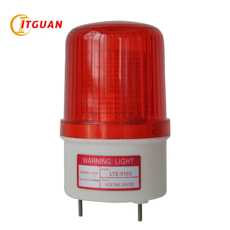 LTE-5103 AC/DC12V-380V LED Flashing Warning Lamp Industrial Emergency Strobe Light Beacon Emergency Signal Lamp lte 5071j led strobe warning light alarm dc12v 24v ac220v signal emergency lamp with buzzer sound 90db beacon light