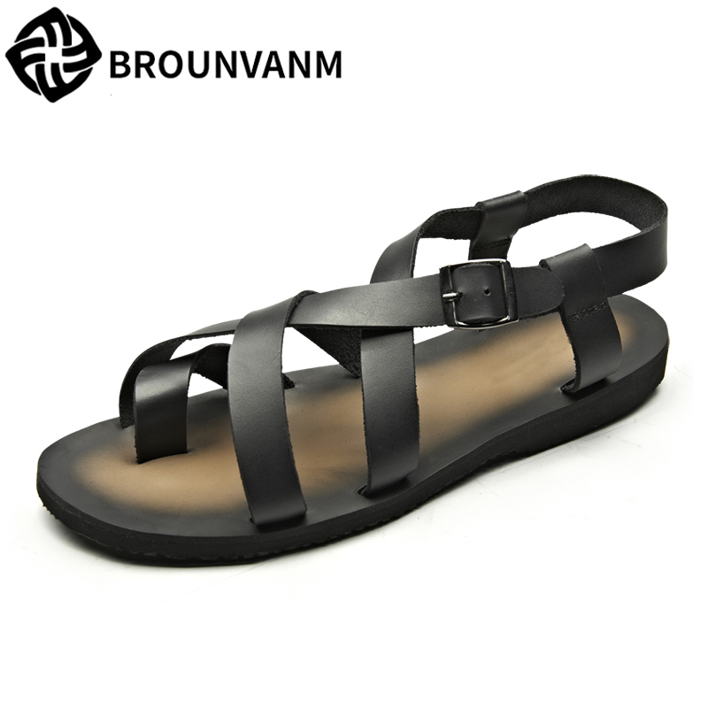men s Rome Sandals British summer men beach shoes sandals Sneakers Men Slippers Flip Flops casual