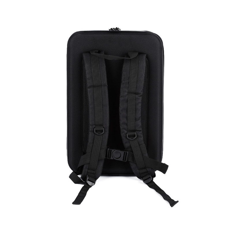 Black ABS Hard Shell Backpack Case Bag for Hubsan X4 H501S Quadcopter Dropshipping Free Shipping M30 rubberized hard shell case w ribbed design holster