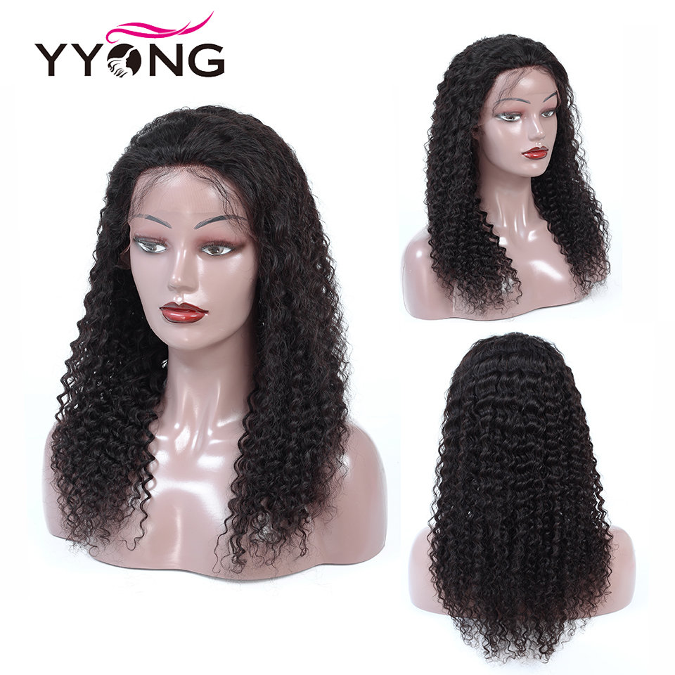 Image 5 - Yyong 13x4 Lace Front Human Hair Wigs With Baby Hair Indian Deep Wave Remy Human Hair Lace Front Wigs For Women Pre Plucked-in Human Hair Lace Wigs from Hair Extensions & Wigs