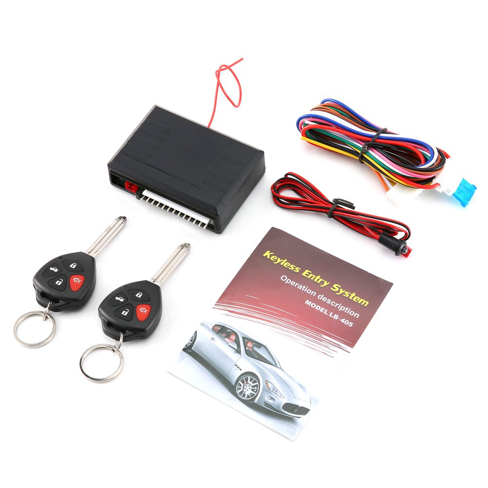Car Auto Alarm Central Door Locking Keyless Remote Control For Cars Key-free Entry Advanced Technology