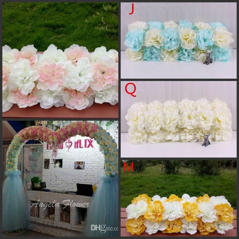 Cheap Wedding Arch Decoration Ideas: Cheap DIY Wedding Decoration Props Simulation Silk Flowers