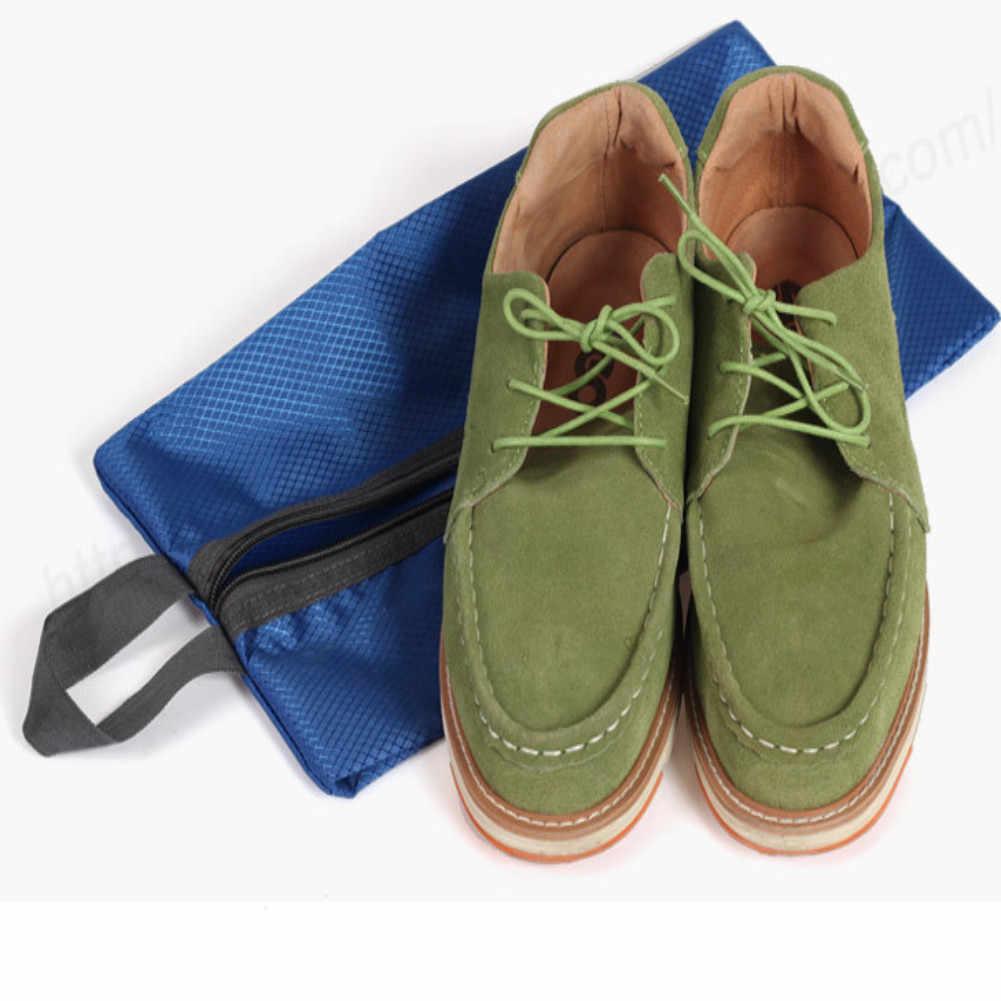 Przenośny skompresowany podróż wodoodporna kosmetyczka torba na buty na zamek błyskawiczny kosmetyczka organizer na kosmetyki torby z zapięciem