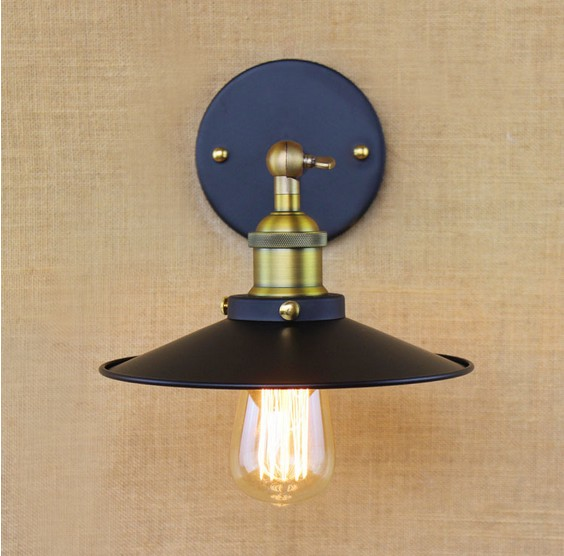 Loft Style Decorative Edison Wall Sconce Bedside Wall Lamp Industrial Vintage Lighting Wall Light Fixtures For Home