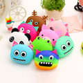 3D kawaii purse Cute Cartoon Animal Silicone Coin Purse Wallets Rubber small Purse Bags coin case kids wallet fashion girls bag