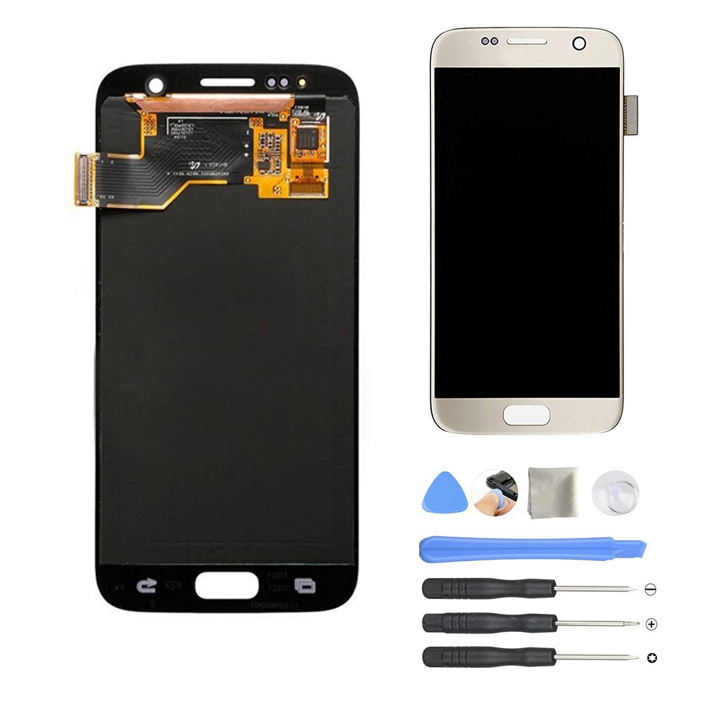 Orginal Replacement LCD Display Touch Screen Digitizer Assembly for Samsung Galaxy S7 SM G930 G930F A V T Pwith Repair Tool