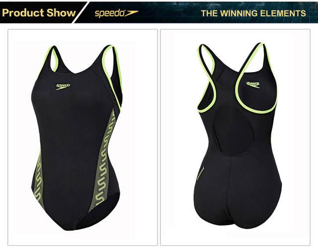 fb68dea715 Online Shop Speedo Professional Women's Swimsuit Monogram Muscleback  ENDURANCE+ One-piece Slimming Swimwear Anti Chloride   Aliexpress Mobile