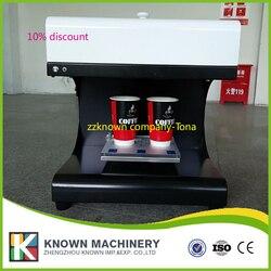 CE zatwierdzone WiFi ploter płaski typ płyty pozwala ekspres do kawy maszyna drukarska w Roboty kuchenne od AGD na