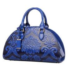 2016สไตล์จีนผู้หญิงกระเป๋าถือสุภาพสตรีHobosดอกไม้นูนซิปกระเป๋าC Rossbody Messenger:กระเป๋าสะพายกระเป๋าTotesกระเป๋า
