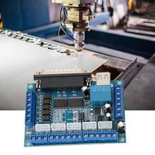 1pc CNC 5 Axis Stepper Motor Driver Interface Board With USB Cable Optocoupler Isolation For MACH3 Board Parallel Port Control nc200 200khz lpt parallel to usb adapter for mach3 cnc control applications