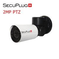 Outdoor PoE PTZ IP Security Camera 2MP HD 4X Optical Zoom Autofocus Len 120ft IR Weatherproof compatible HIKVISION DAHUA XM NVR