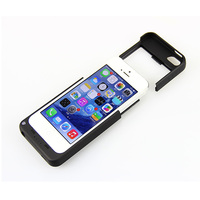 2200mAh For IPhone 5 5s External Portable Battery Case Backup Charger Power Bank Case Cover For