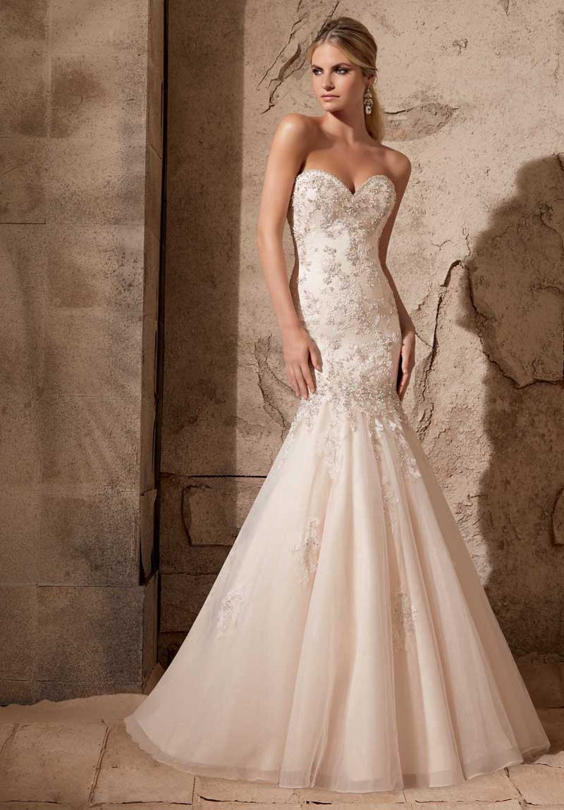 Luxury mermaid wedding dresses 2015 sweetheart covered button back luxury mermaid wedding dresses 2015 sweetheart covered button back floor length wedding gown champagne color in wedding dresses from weddings events on ombrellifo Choice Image