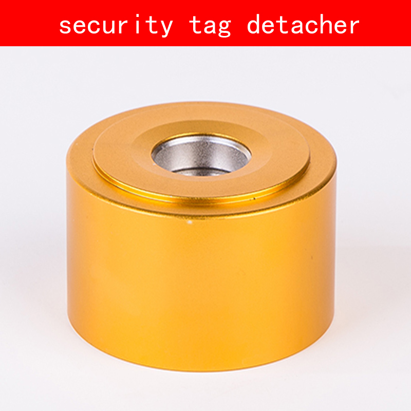 Aluminum shell gold sliver security tag detacher 16000GS eas magnet tag remover for Clothing Supermarket hybon golf detacher 15000gs universal magnet tag remover eas security detacher removedor de alarmas clothing detachers