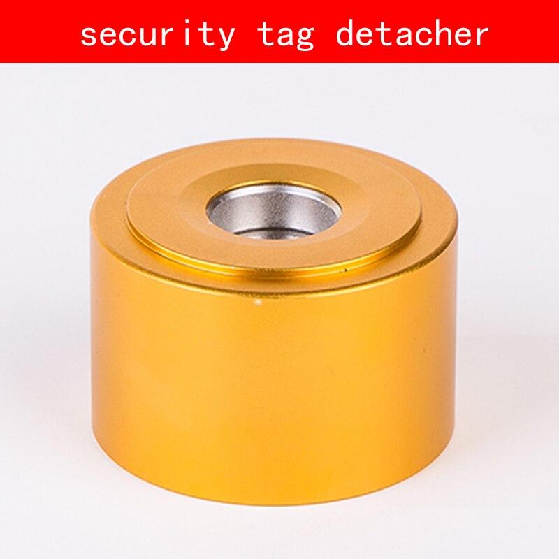 Détacheur d'étiquette de sécurité de ruban d'or de coquille en aluminium 16000GS eas décapant d'étiquette d'aimant pour le supermarché d'habillement