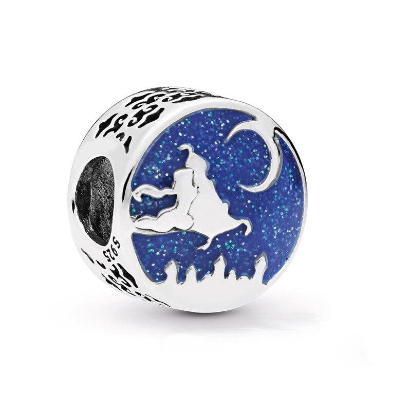 Levering Gratis Verzending 925 Sterling Zilver Aladdin Magic Tapijt Rit Charms Fit Originele Pandora Armband Ketting Voor Vrouwen Diy Sieraden