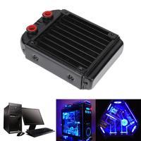 120mm 18 Tubes G4 1 Water Cooling Radiator For Computer Chip CPU GPU VGA RAM Laser