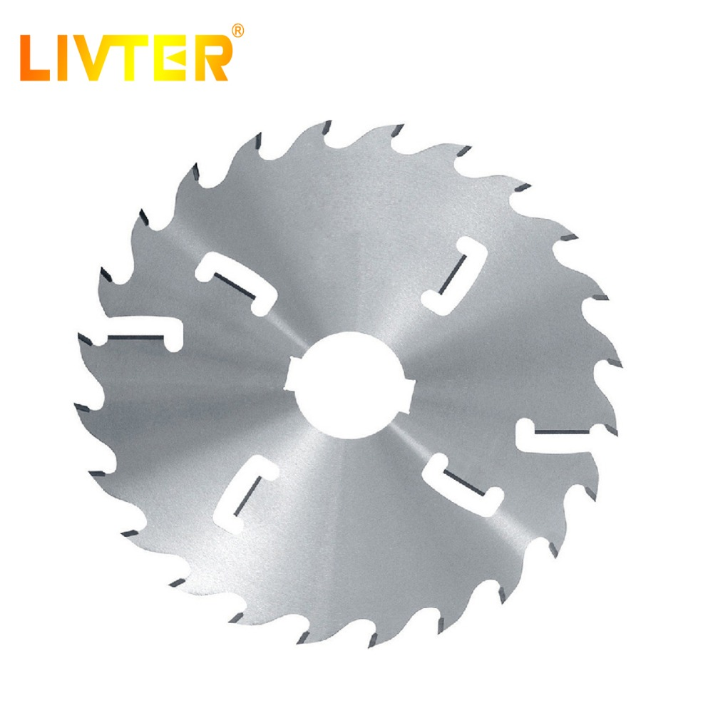 LIVTER T.C.T Thin Kerf Saw Blade With Rakers Circular  High Efficient For Solid Wood Cutting Tools High Quality China's Factory