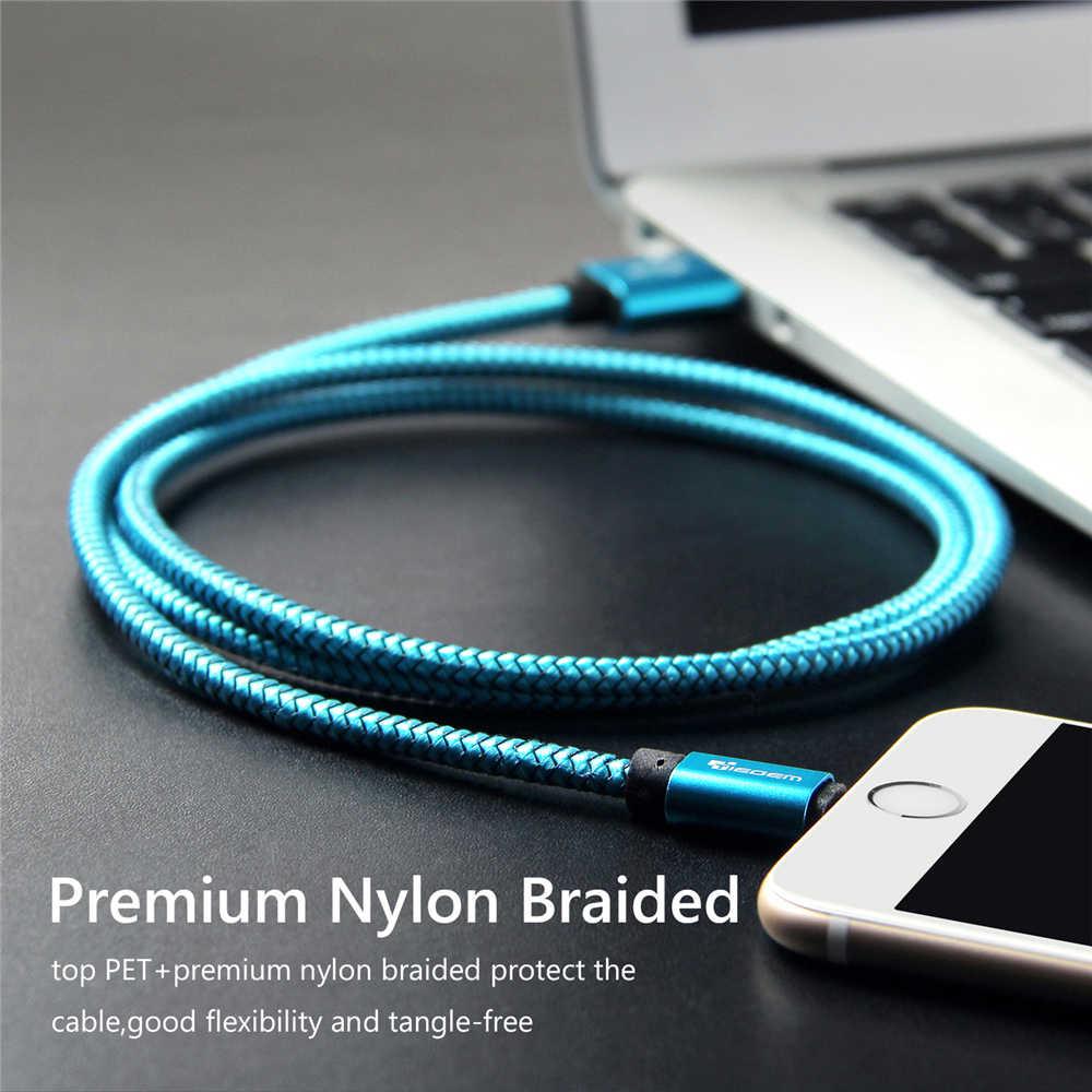 Kabel USB Tiegem dla iPhone 7 8 6 5 6s S 5 se plus X XS MAX XR kabel kabel szybkiego ładowania USB do telefonu komórkowego kabel danych 3M