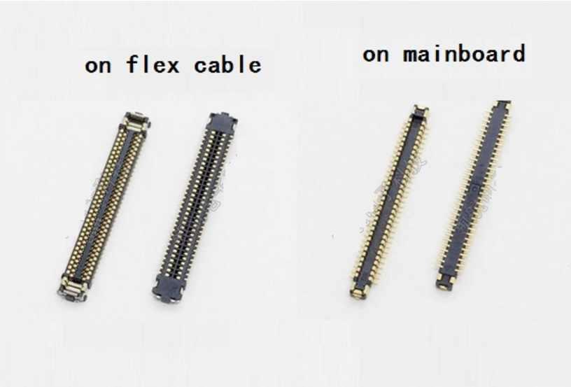 Pantalla LCD de 5 uds. Conector FPC para Samsung Galaxy S8 G950 S8 + Plus G955 en placa base/cable flexible