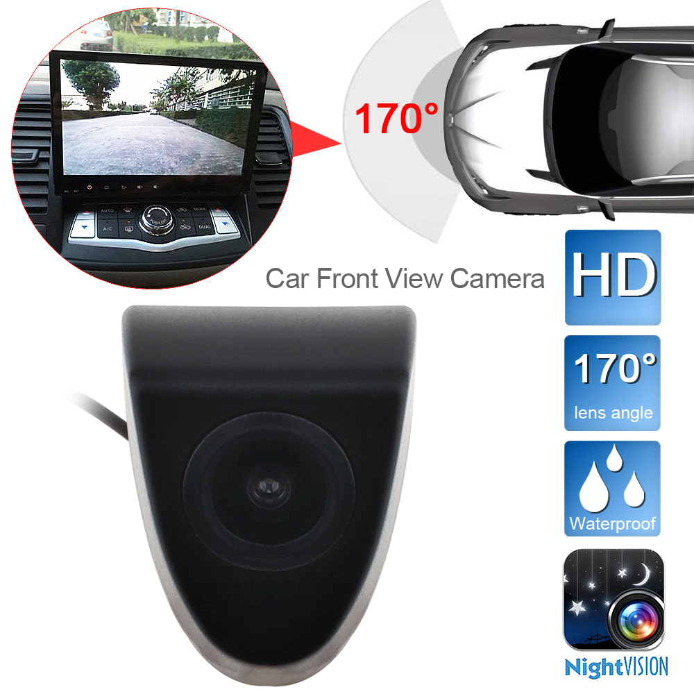 CCD HD Car Front View Vehicle Logo Camera For Toyota Venza TUNDRA Avalon Carina Avensis Celica Solara Matrix Brand Mark Camera