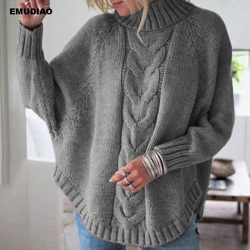 Turtleneck  Loose Pullover  2