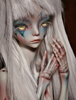 1/4 BJD Doll The Hermit IX Doll For Baby Girl Birthday Gift Present