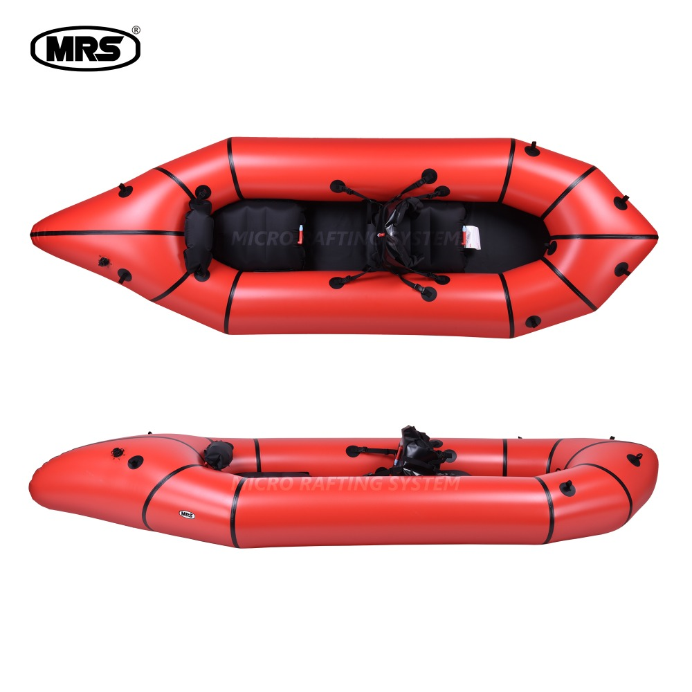 [MRS][Adventure X2] red Micro rafting systems 2-person packraft kayak drifting boat for rafting Packraft
