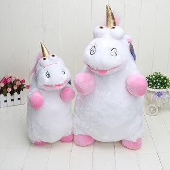 56 cm Karikatür film anime Despicable Me 2 film Minions Evil Unicorn Peluş doldurulmuş oyuncak bebek modeli pamuk tutma yastığı bebek çocuk hediye