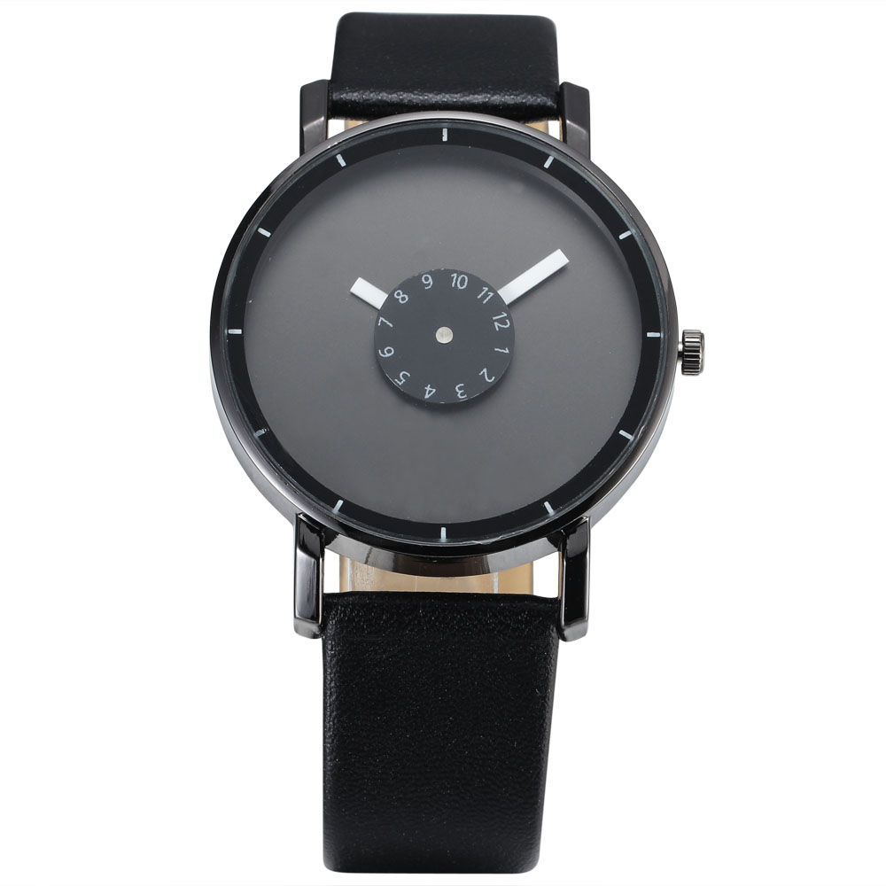 New Ladies Quartz Watch Women Simple Casual Dress Women's Clock Black Wist Watches Montre Femme Marque De Luxe