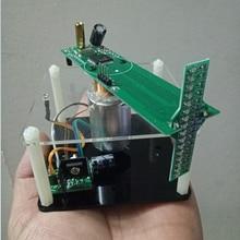 Крестообразный вращающийся светодиодный дисплей 51 MCU Электронный производственный комплект DIY Набор креативных предметов