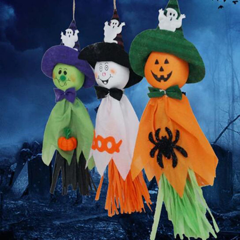 store hotel bar kindergarten haunted house place halloween decorations the ghost garland halloween propschina - Halloween Decorations Store