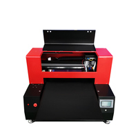 Automastic 6060 uv printer High Speed Multicolour Print UV Printer 12 color with Two Printhead For Phone case /T shirt/leather
