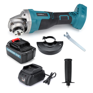 Image 5 - Protable Electric Angle Grinder Cordless Power Cutting Tool + 128tv/29800 lithium battery Rechargeable Power Tool Grinder